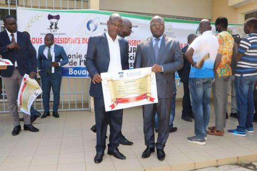 UAO Université Lauréats Prix de la meilleur visibilité dans la presse